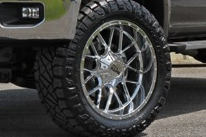 Ford F-150 XLT MO986 Moto Metal Siege Wheels