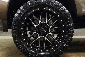 Ford F-350 MO986 Moto Metal Siege Wheels