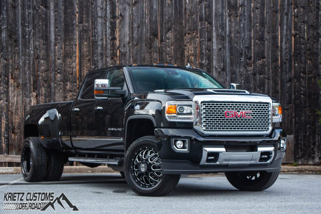 2017 GMC Sierra 3500HD Denali Dually With XD Series Wheels