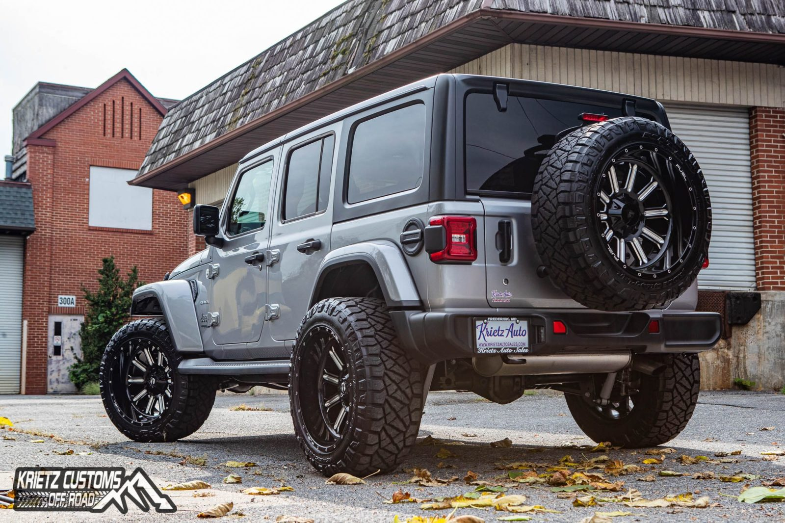 2018 Jeep Wrangler Unlimited with Fuel Wheels