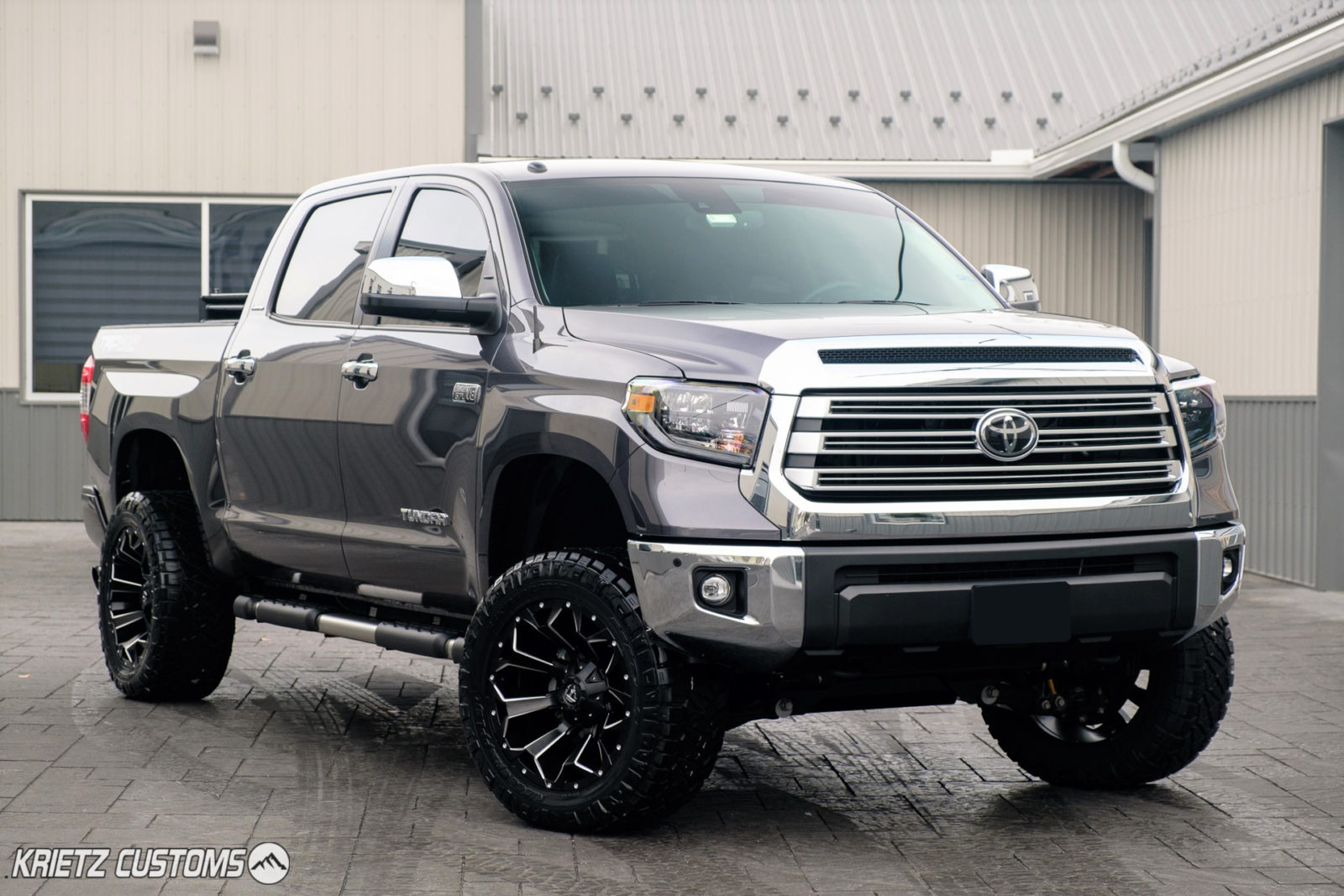 Toyota Tundra Aftermarket Parts >> 2019 Toyota Tundra with Fuel Wheels