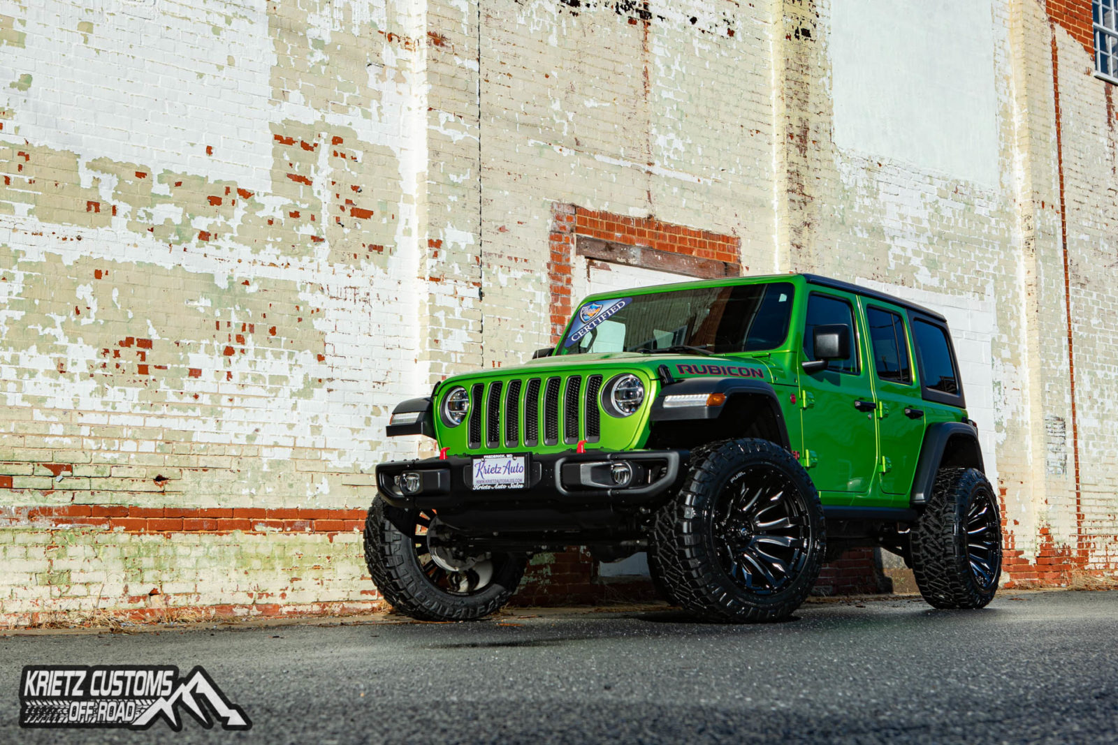 2019 Jeep Wrangler JL with Fuel Wheels