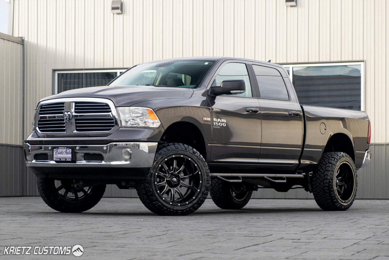 2019 Ram 1500 Classic With Fuel Wheels