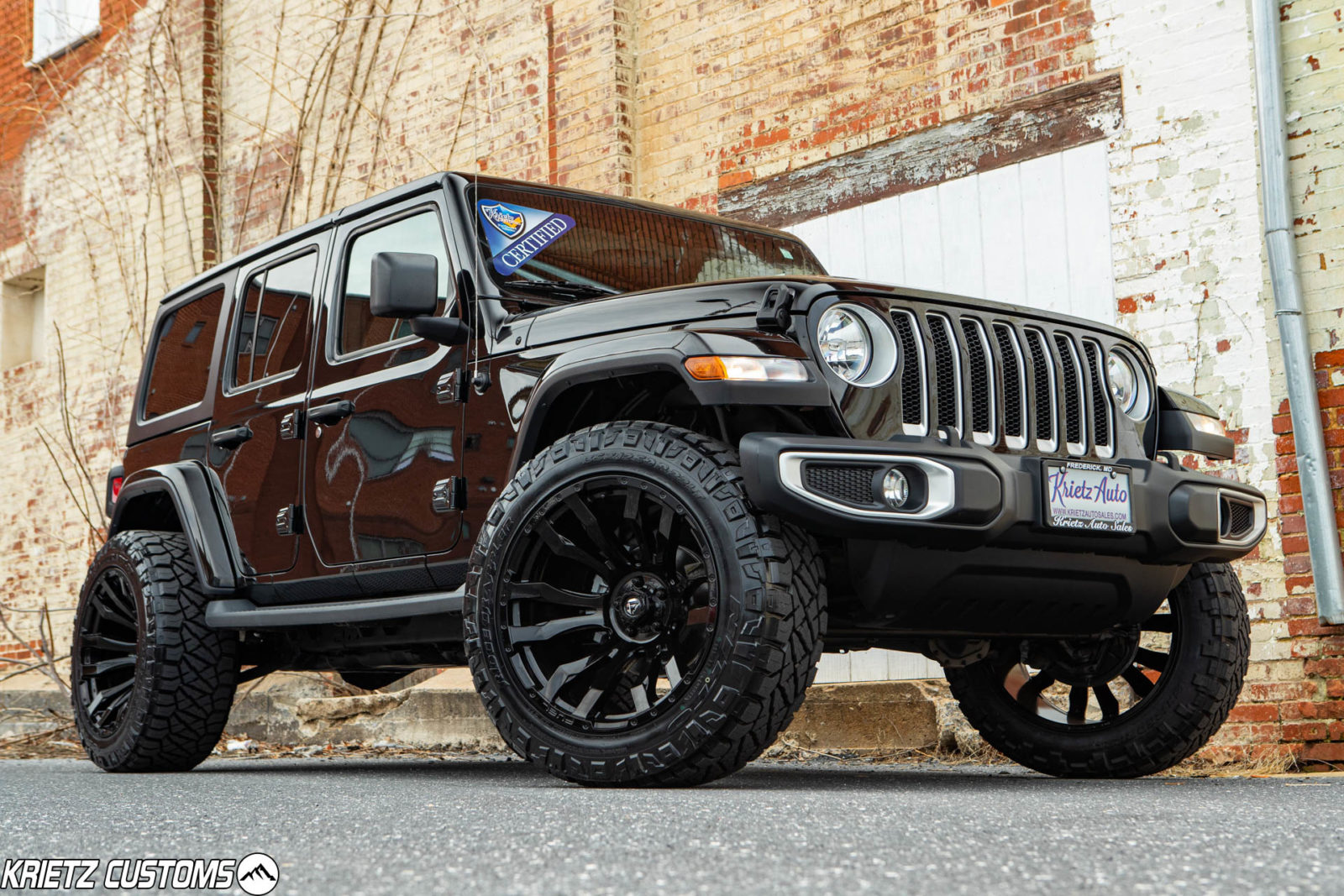 Lift Kits For Jeeps >> Lifted Jeep Wrangler with 22×12 Fuel Blitz and a 6 Inch Rough Country Lift Kit