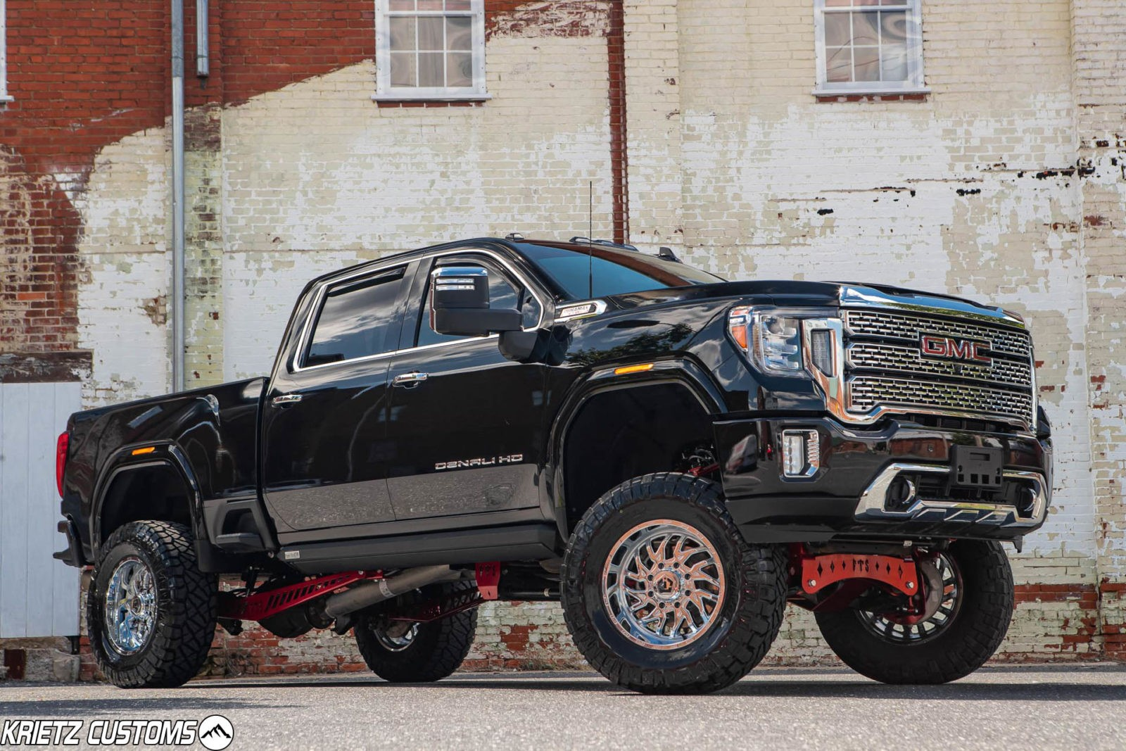 Lifted 2020 Gmc Sierra 2500hd Denali With 7 9 Inch Full Throttle Suspension Lift Kit And 20 10 Tis 544c Wheels Krietz Auto